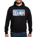 Albert Lea License Plate Hoodie (dark)