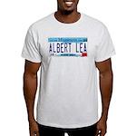 Albert Lea License Plate Light T-Shirt
