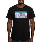 Albert Lea License Plate Men's Fitted T-Shirt (dar