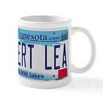Albert Lea License Plate Mug