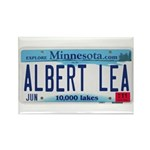 Albert Lea License Plate Rectangle Magnet (100 pac