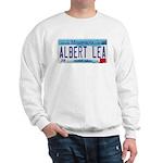 Albert Lea License Plate Sweatshirt