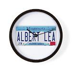 Albert Lea License Plate Wall Clock