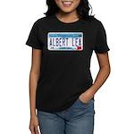 Albert Lea License Plate Women's Dark T-Shirt