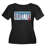 Albert Lea License Plate Women's Plus Size Scoop N