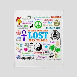 LOST Memories Throw Blanket