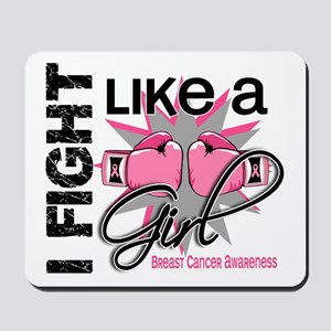 Licensed Fight Like a Girl 13.1 Mousepad