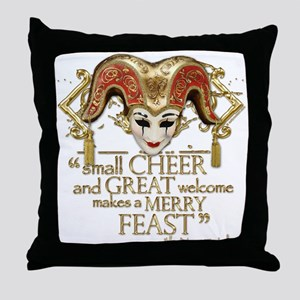 Comedy of Errors Quote Throw Pillow