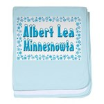Albert Lea Minnesnowta baby blanket