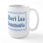 Albert Lea Minnesnowta Large Mug