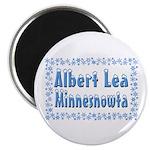 Albert Lea Minnesnowta Magnet