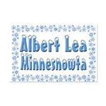 Albert Lea Minnesnowta Mini Poster Print