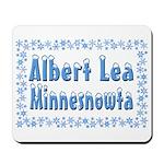 Albert Lea Minnesnowta Mousepad