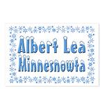 Albert Lea Minnesnowta Postcards (Package of 8)