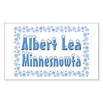 Albert Lea Minnesnowta Sticker (Rectangle)