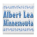 Albert Lea Minnesnowta Tile Coaster