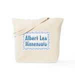 Albert Lea Minnesnowta Tote Bag
