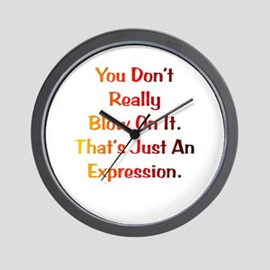 An Expression Gift Wall Clock