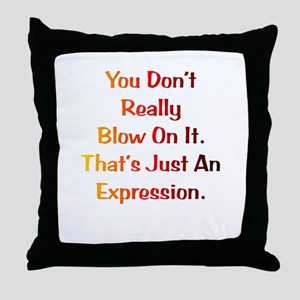 An Expression Gift Throw Pillow