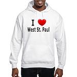 I Love West St. Paul Hooded Sweatshirt