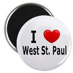 I Love West St. Paul Magnet