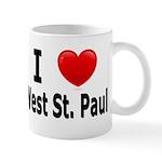 I Love West St. Paul Mug