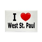 I Love West St. Paul Rectangle Magnet (10 pack)