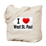 I Love West St. Paul Tote Bag