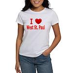I Love West St. Paul Women's T-Shirt