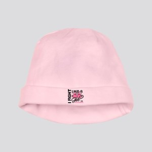 Licensed Fight Like a Girl 13.5 baby hat