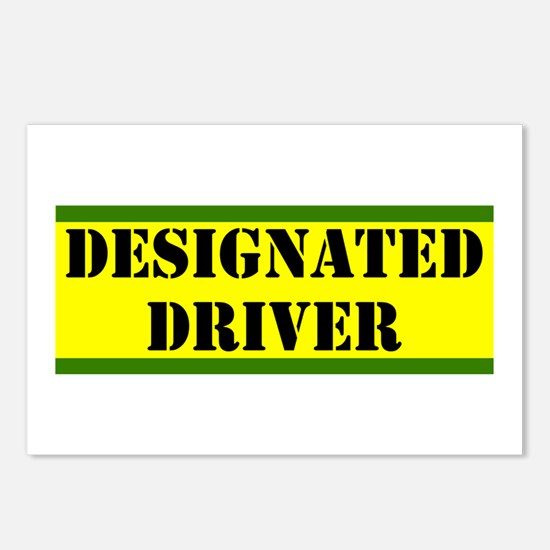 Designated Driver Postcards (Package of 8)