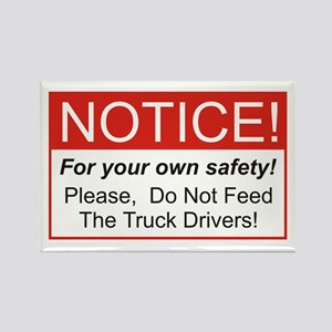 Notice / Truck Rectangle Magnet