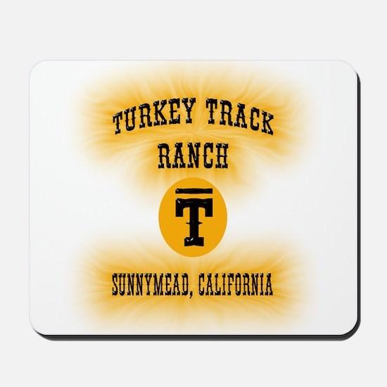Turkey Track Ranch Mousepad