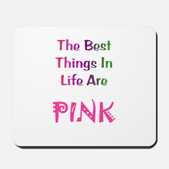 Pink Gift Mousepad