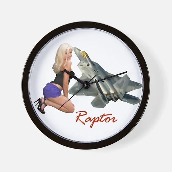 F-22 Raptor Clock