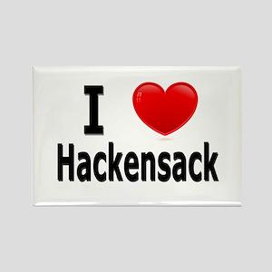 I Love Hackensack Rectangle Magnet