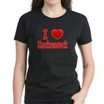 I Love Hackensack Women's Dark T-Shirt