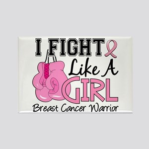 Licensed Fight Like a Girl 15.2 Rectangle Magnet