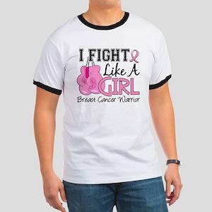 Licensed Fight Like a Girl 15.2 Ringer T