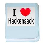 I Love Hackensack Minnesota baby blanket