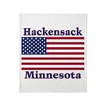 Hackensack US Flag Throw Blanket