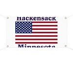 Hackensack US Flag Banner