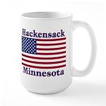 Hackensack US Flag Large Mug