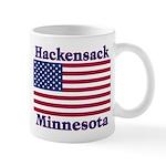 Hackensack US Flag Mug