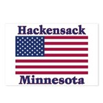 Hackensack US Flag Postcards (Package of 8)