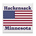 Hackensack US Flag Tile Coaster