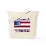 Hackensack US Flag Tote Bag