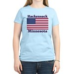 Hackensack US Flag Women's Light T-Shirt