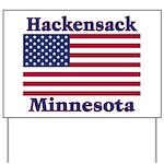 Hackensack US Flag Yard Sign