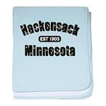 Hackensack Established 1903 baby blanket